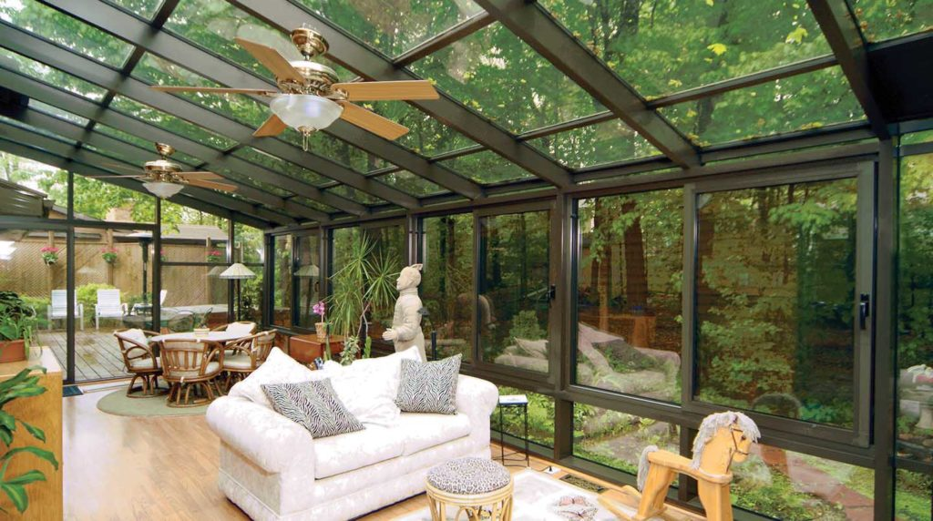 Outdoor Living Space In Winter